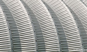 Galeria hal łukowych. Prefabrykowane stalowe hale łukowe typu D - hala łukowa wytwarzana jest z blachy Galvalume, Aluzinc