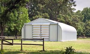Samonośne hale łukowe - prefabrykowana stalowa hala łukowa jako budynki gospodarcze, czy łukowy magazyn dla rolnictwa.